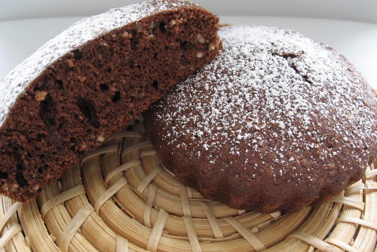 Mini gâteaux chocolat-noisettes