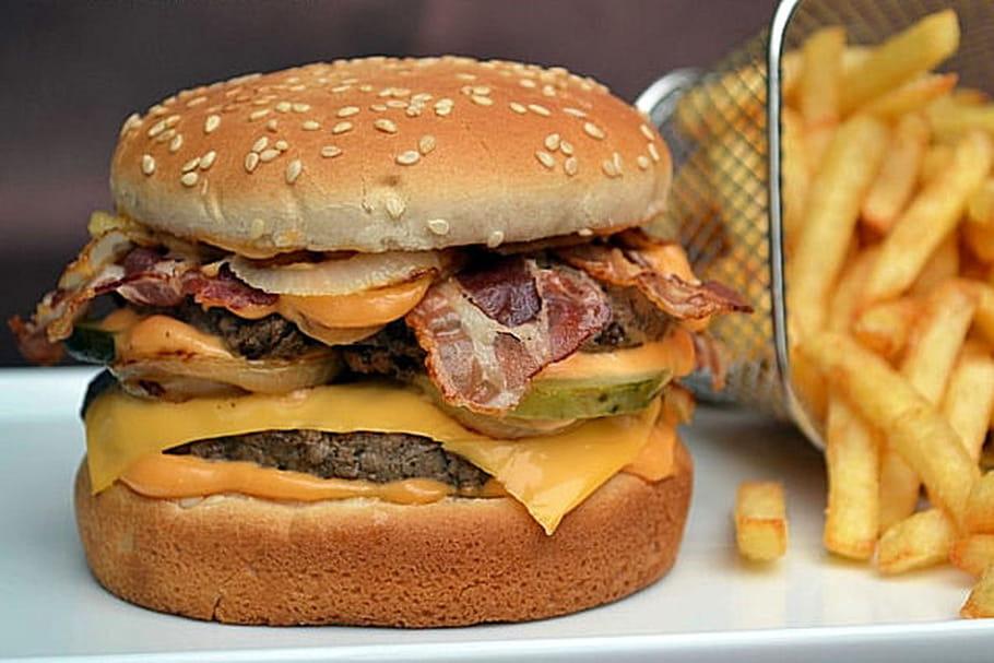 Le marché du burger en chiffres et en giffres