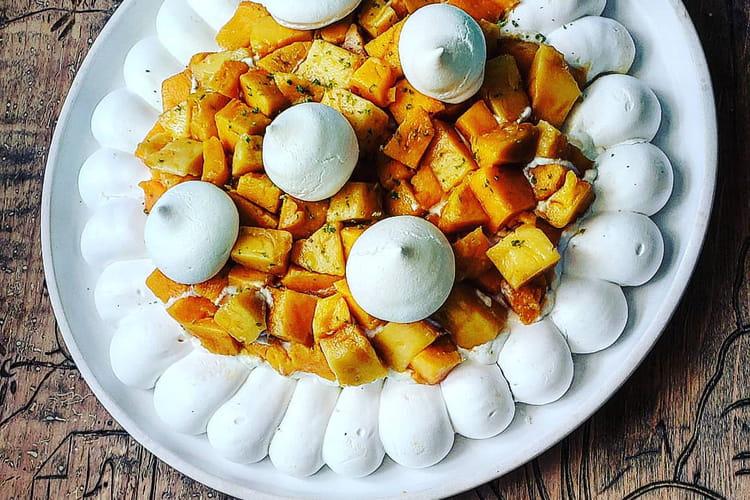 Pavlova mangue et citron vert