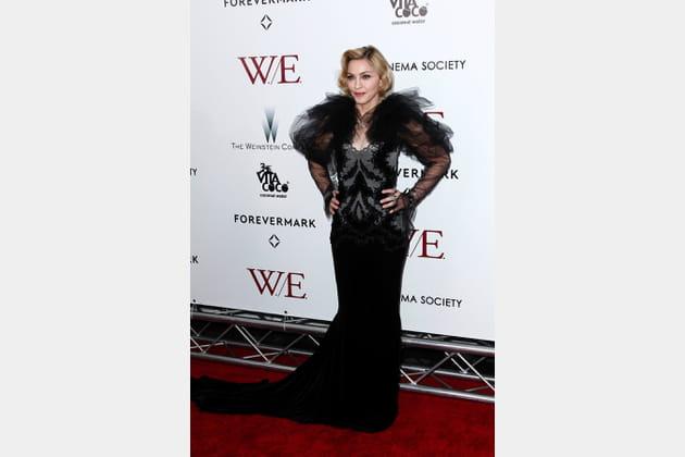 Madonna le 23janvier 2012