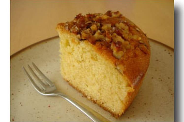 Cake au sirop d'érable et aux noix
