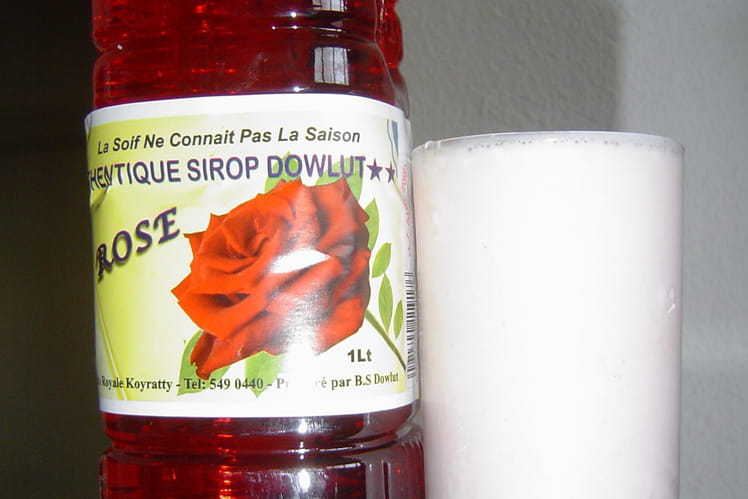 Lassi  parfumé a la rose