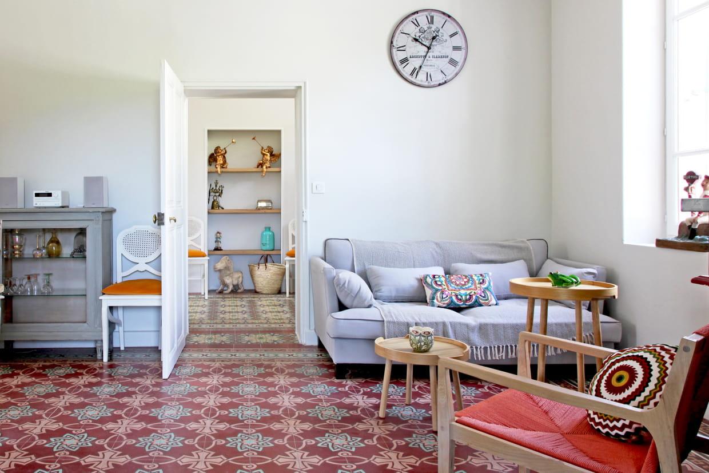 carrelage en enfilade. Black Bedroom Furniture Sets. Home Design Ideas