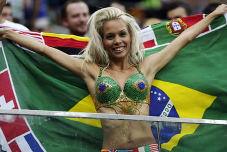 Supportrices sexy Coupe du monde 2014 Brésil