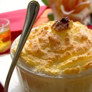 petits pots de crème au citron meringué