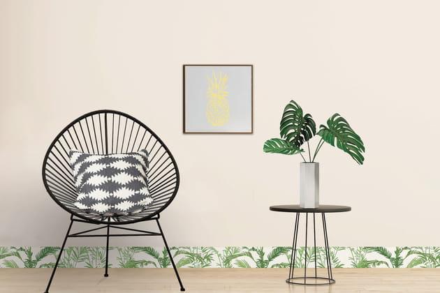 Une plinthe à imprimé jungle