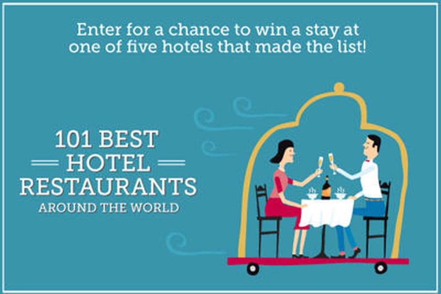 Paris en tête des meilleurs restaurants d'hôtel du monde