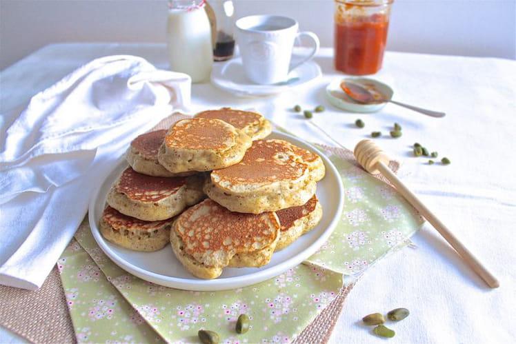Pancakes polonais en pâte levée