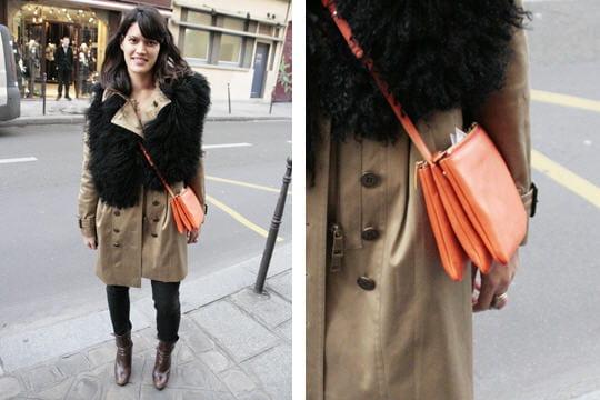 Fashion week : les street looks des défilés parisiens PAP automne-hiver 2011-2012 22
