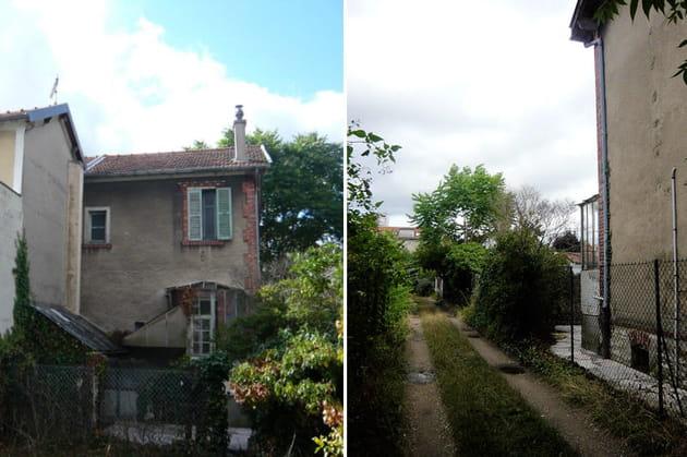 La maison et son jardin, avant
