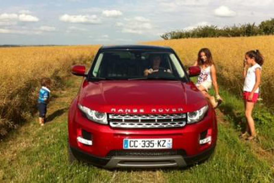 Range Rover Evoque, voiture femme 2012 !