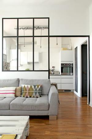 colorer les murs un parti pris assum - Comment Dcorer Un Appartement Blanc
