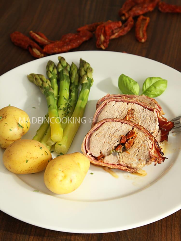 recette de filet mignon farci à la mozzarella et aux tomates