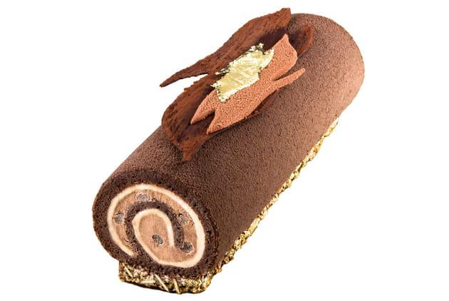 Bûche Chocolat-Thé de The Westin Paris