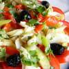 salade catalane a la morue esqueixada