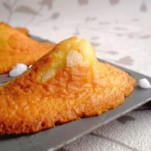 madeleines au sucre perlé