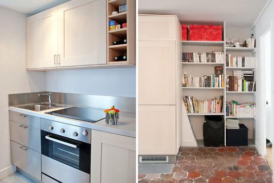 Appartement XVIIIe modernisé par MyHomeDesign : rangements