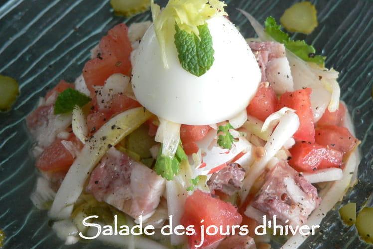 Salade des jours d'hiver
