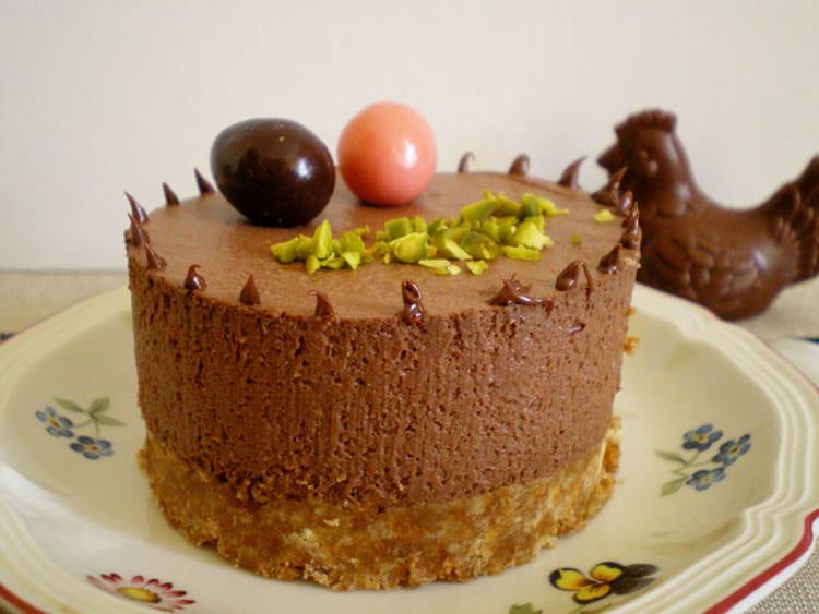 Recette de cheesecake chocolat ricotta sans cuisson la recette facile - Cuisson mont d or four ...