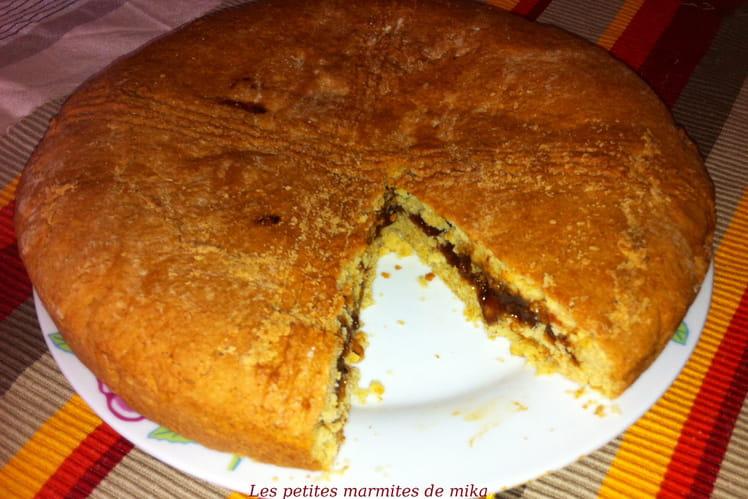 Gâteau basque qui sent la Provence
