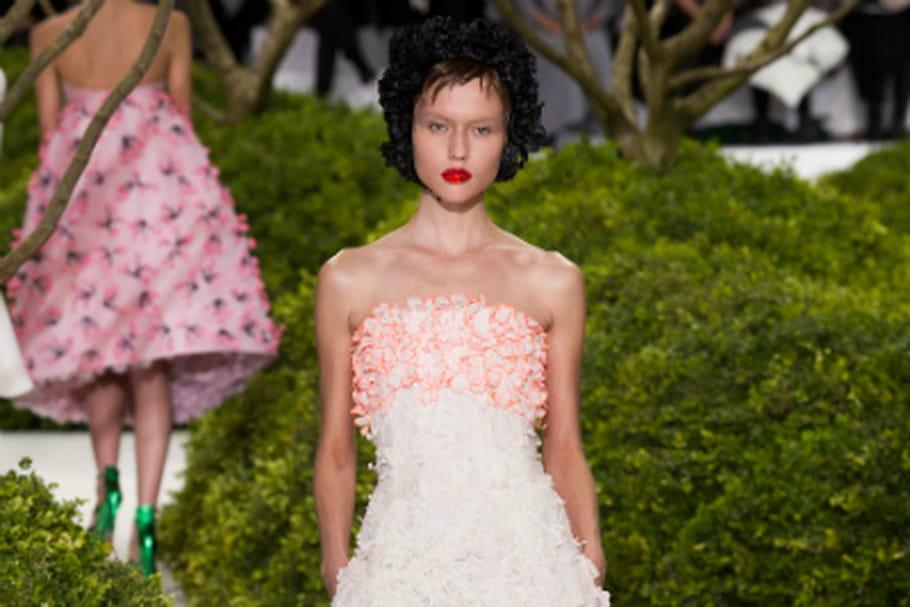 Haute couture : le jardin enchanteur de Christian Dior