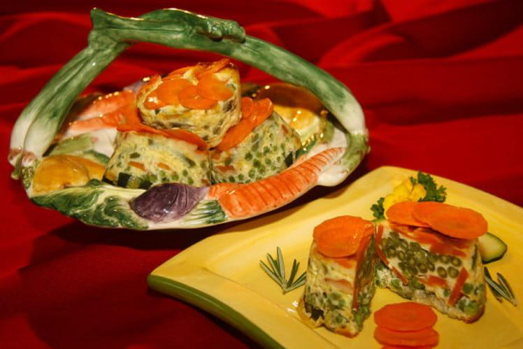 Méli Mélo de légumes en terrine