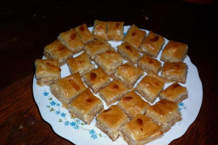 Baklavas à l'orange et aux multiples fruits secs