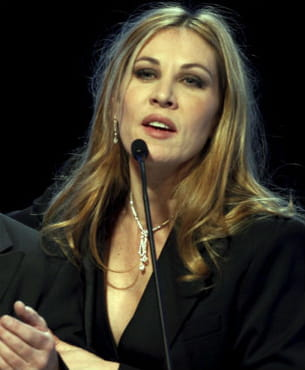 mathilde seigner lors de la cérémonie des césars en 2012