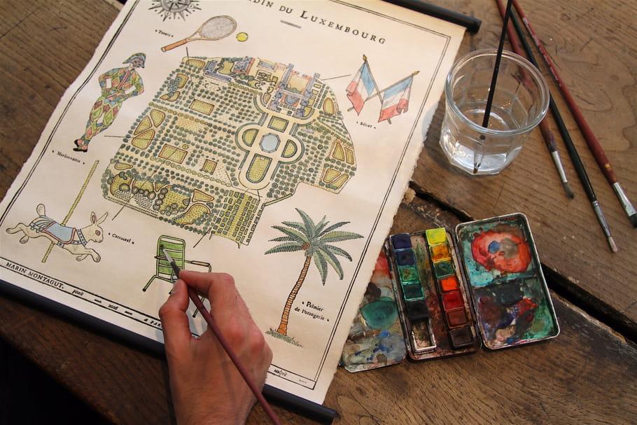 L'objet du désir : les cartes murales Marin Montagut X Antoinette Poisson