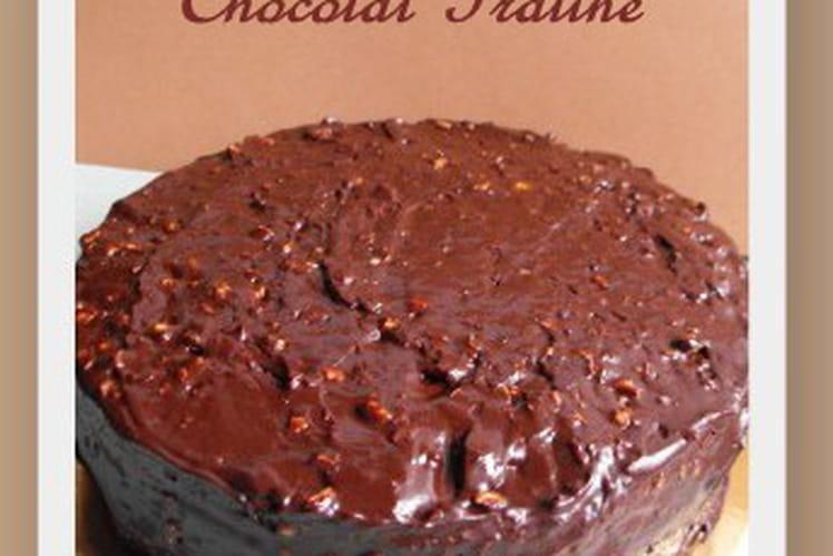 Gâteau rocher chocolat - praliné