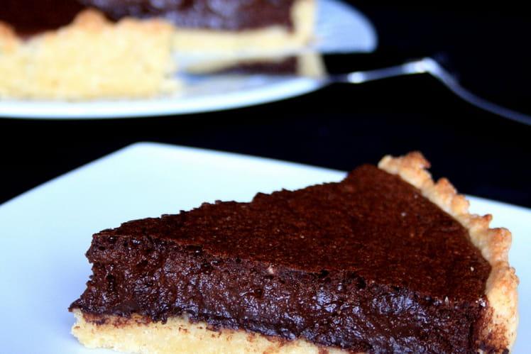 recette de mousse au chocolat en tarte la recette facile. Black Bedroom Furniture Sets. Home Design Ideas