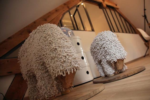 Statue de mouton