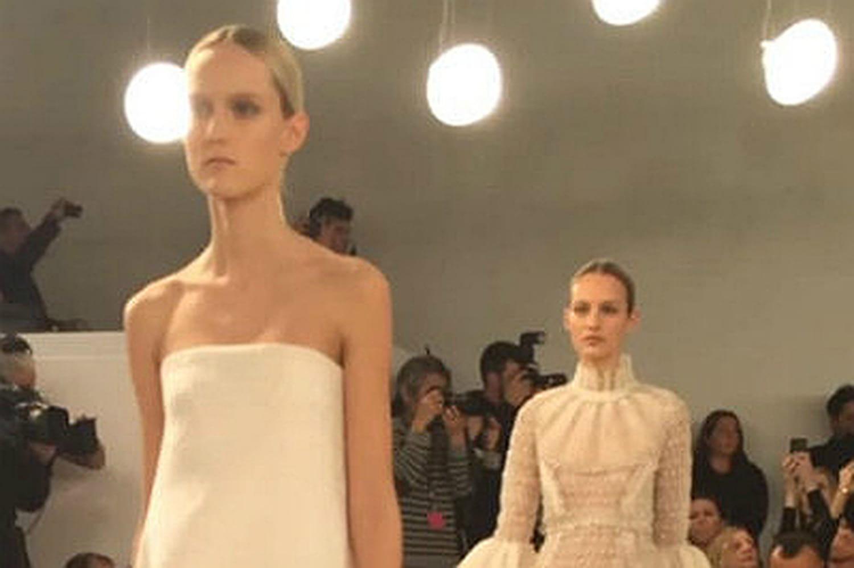 La collection Valentino haute couture présentée à New York