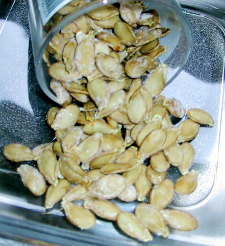 Recette de graines grill es la recette facile - Graines de potimarron grillees a la poele ...