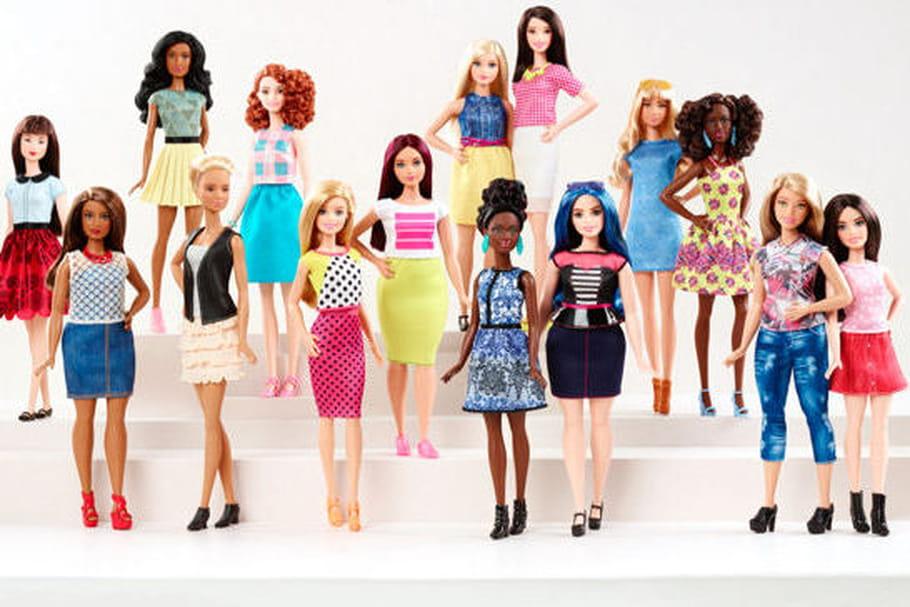 Ronde, grande, petite… Barbie évolue !