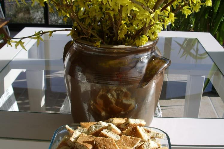 Gâteaux secs à l'anis et raisins secs