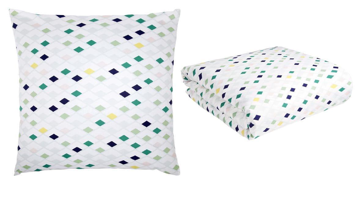 linge de lit flake d 39 habitat. Black Bedroom Furniture Sets. Home Design Ideas