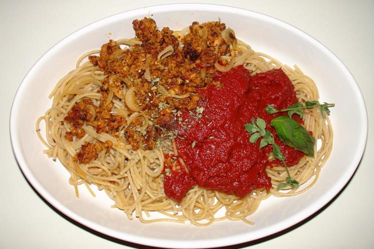 Spaghetti à la provençale