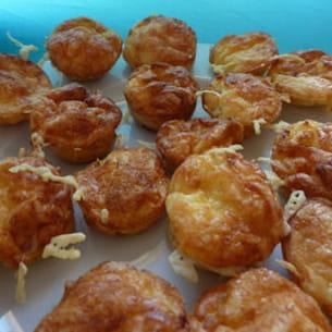mini-quiche sans pâte