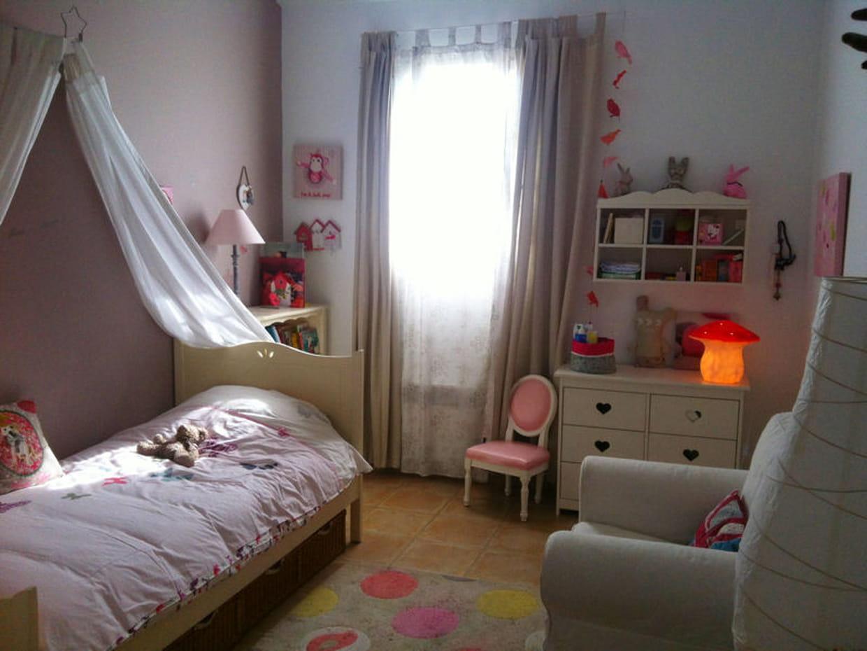 Une chambre rose poudre - Chambre rose poudre ...