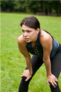 un des symptômes de l'asthme : un essouflement inhabituel à l'effort.