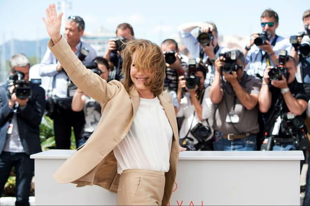Nathalie Baye, cheveux aux vents pour le nouveau film de Xavier Dolan