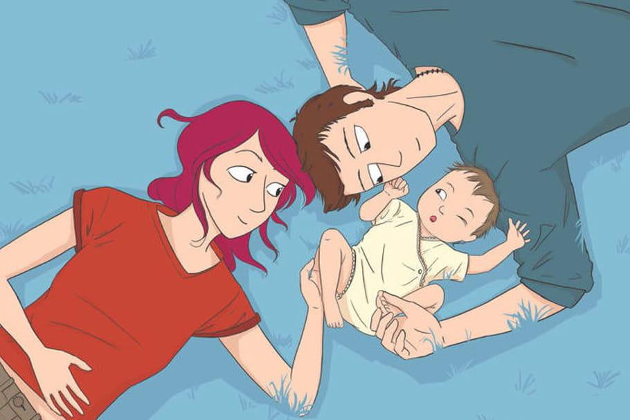 """Rencontre avec l'auteure de la BD hilarante, """"Je veux un bébé tout de suite """""""