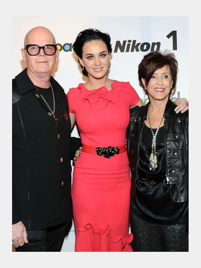 Katy Perry et sa mère Mary Perry