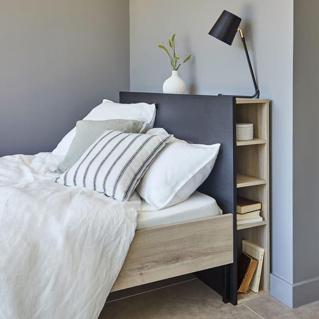 Tête de lit avec rangement alinea