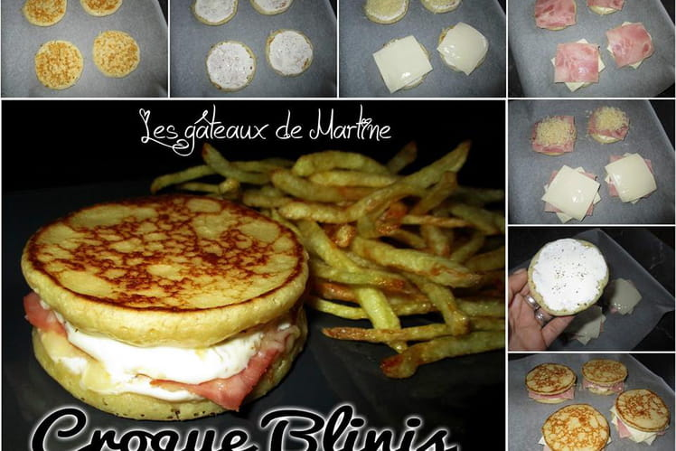Croques Blinis