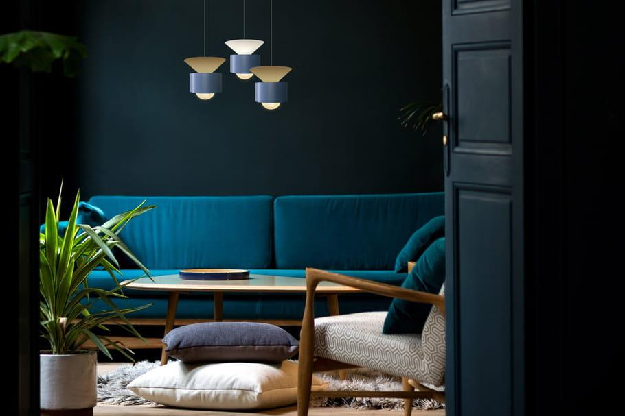 designerbox x lightonline cr ent une suspension graphique et moderne. Black Bedroom Furniture Sets. Home Design Ideas