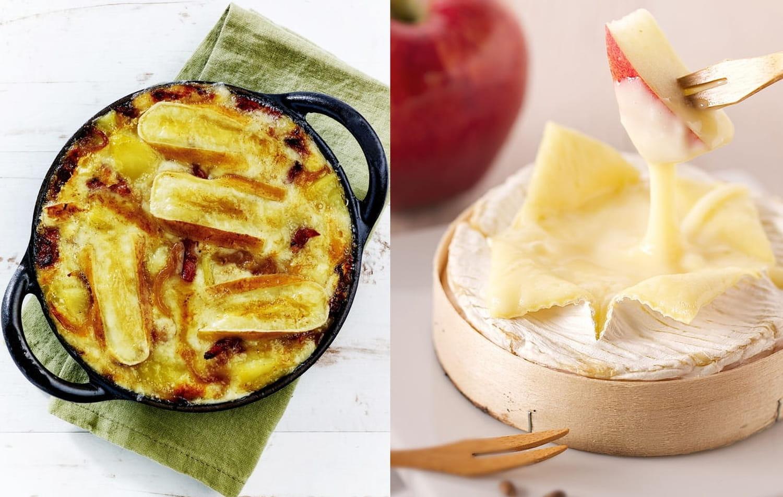 Tartiflette VERSUS Camembert rôti: le match