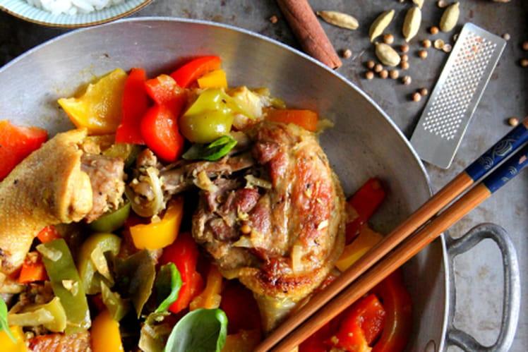 Curry de canette