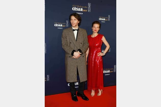 Raphael et Mélanie Thierry